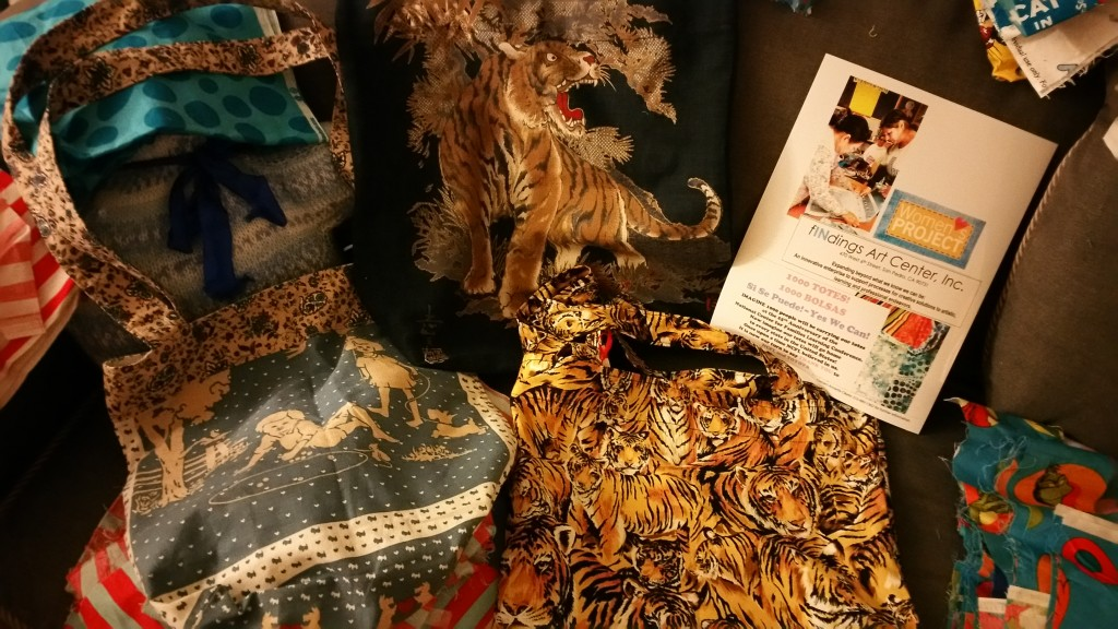 fINdings Women's Project to create 1000 totes for Summit