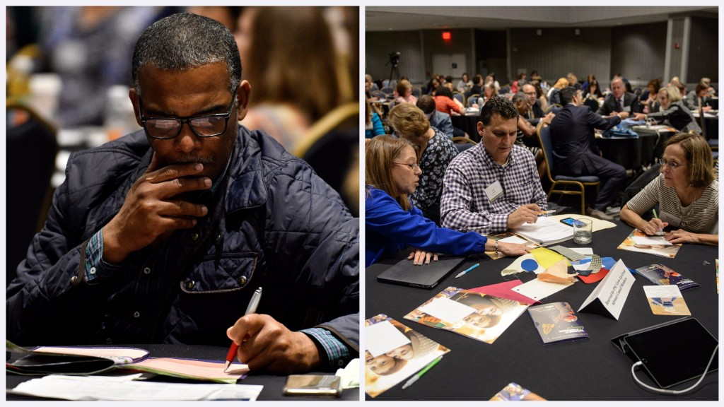 Attendees at 2016 Families Learning Summit