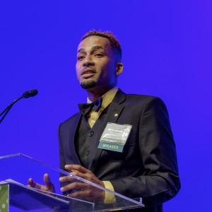 Jamahl Turner, Milwaukee, Wis. Student speaker at 2016 Families Learning Summit