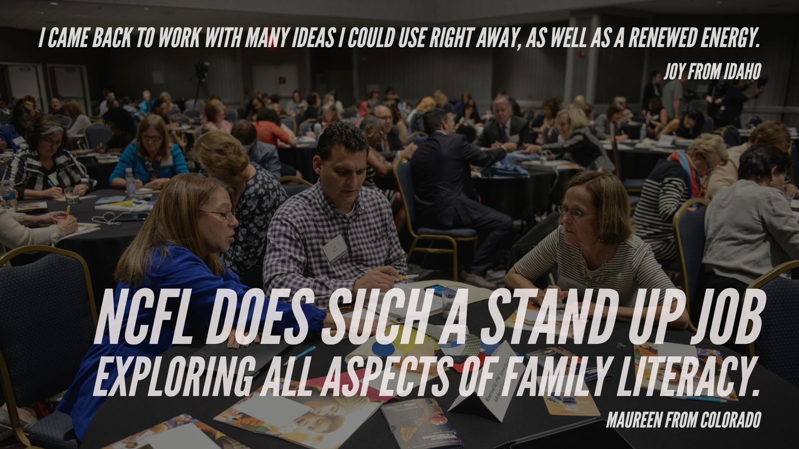 NCFL Conference quotes