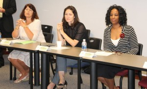 Participants in Family Literacy Roundtable on September 25, 2017