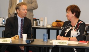 Sen. Rand Paul with NCFL President and Founder Sharon Darling