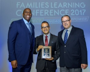 2017 Toyota Family Teacher of the Year runner-up, Fernando Gonzalez