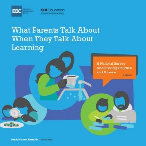 What Parents Talk About When They Talk About Learning: A National Survey About Young Children and Science