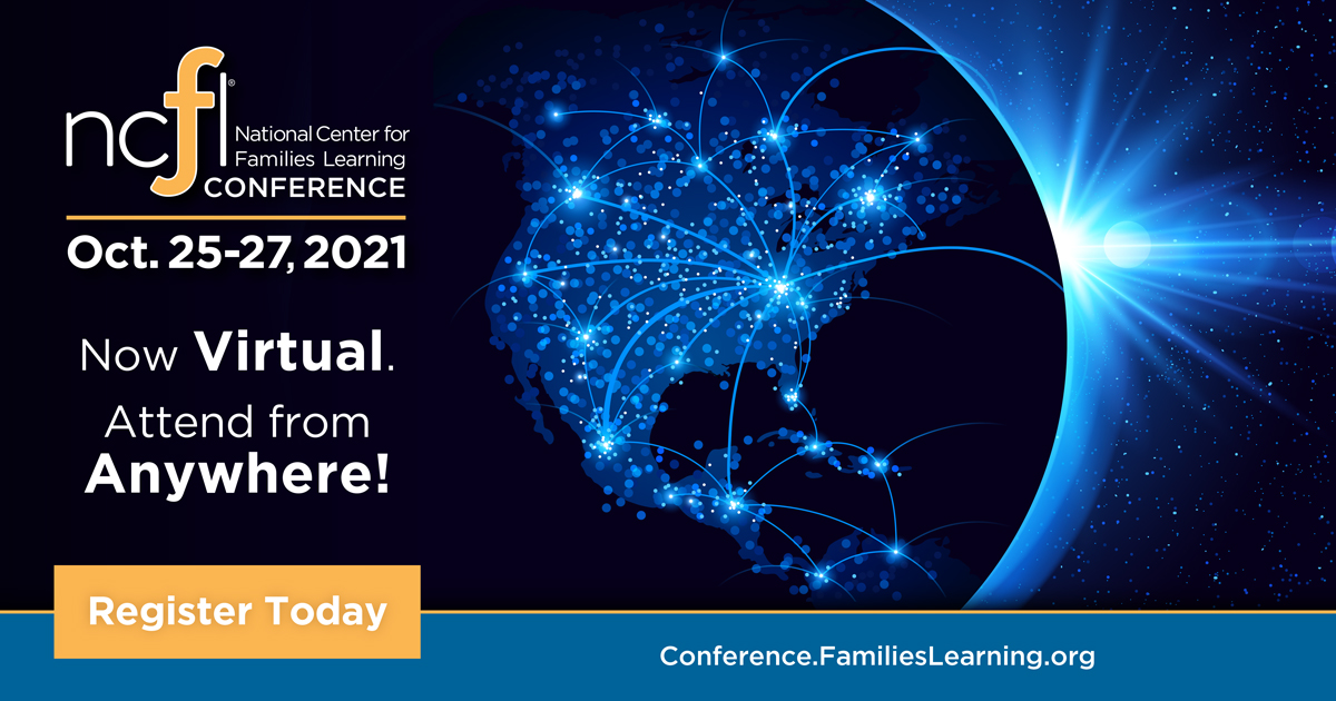 2021 Families Learning Conference moves to all-virtual format